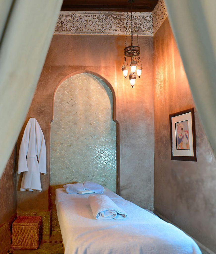espace bien-être et soins du riad Dar Housnia