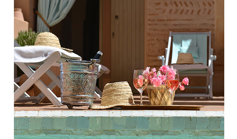 riad Dar Housnia exclusively in Marrakech