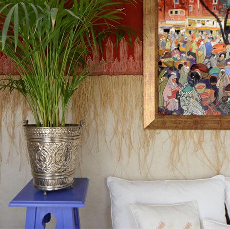 décoration suite Fès riad Dar Housnia à Marrakech