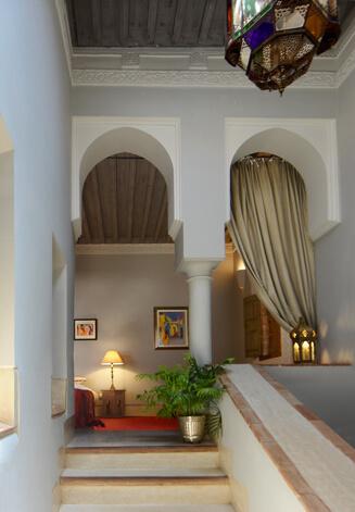 suite Glaoui riad Dar Housnia à Marrakech