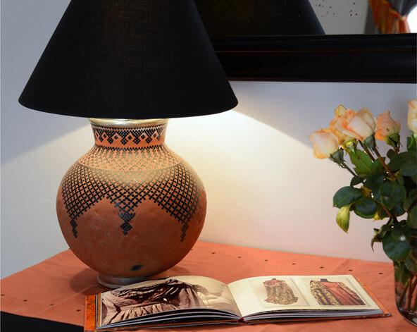 décoration suite Patio riad Dar Housnia